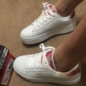 FILA PANACHE in Hologram Pink (open to offers)